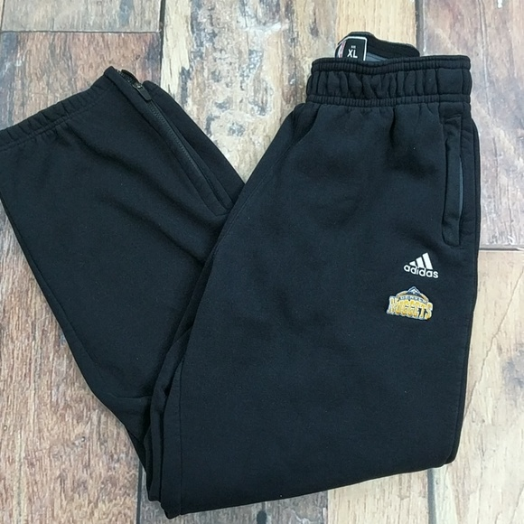 adidas Other - Denver Nuggets player warm up pants by Adidas